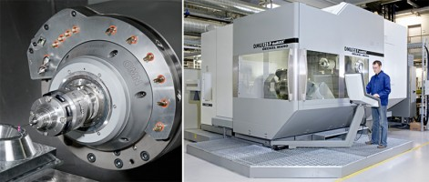 DMU Industriemaschine